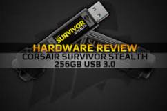 Hardware Review: Corsair Survivor Stealth 256gb USB 3.0