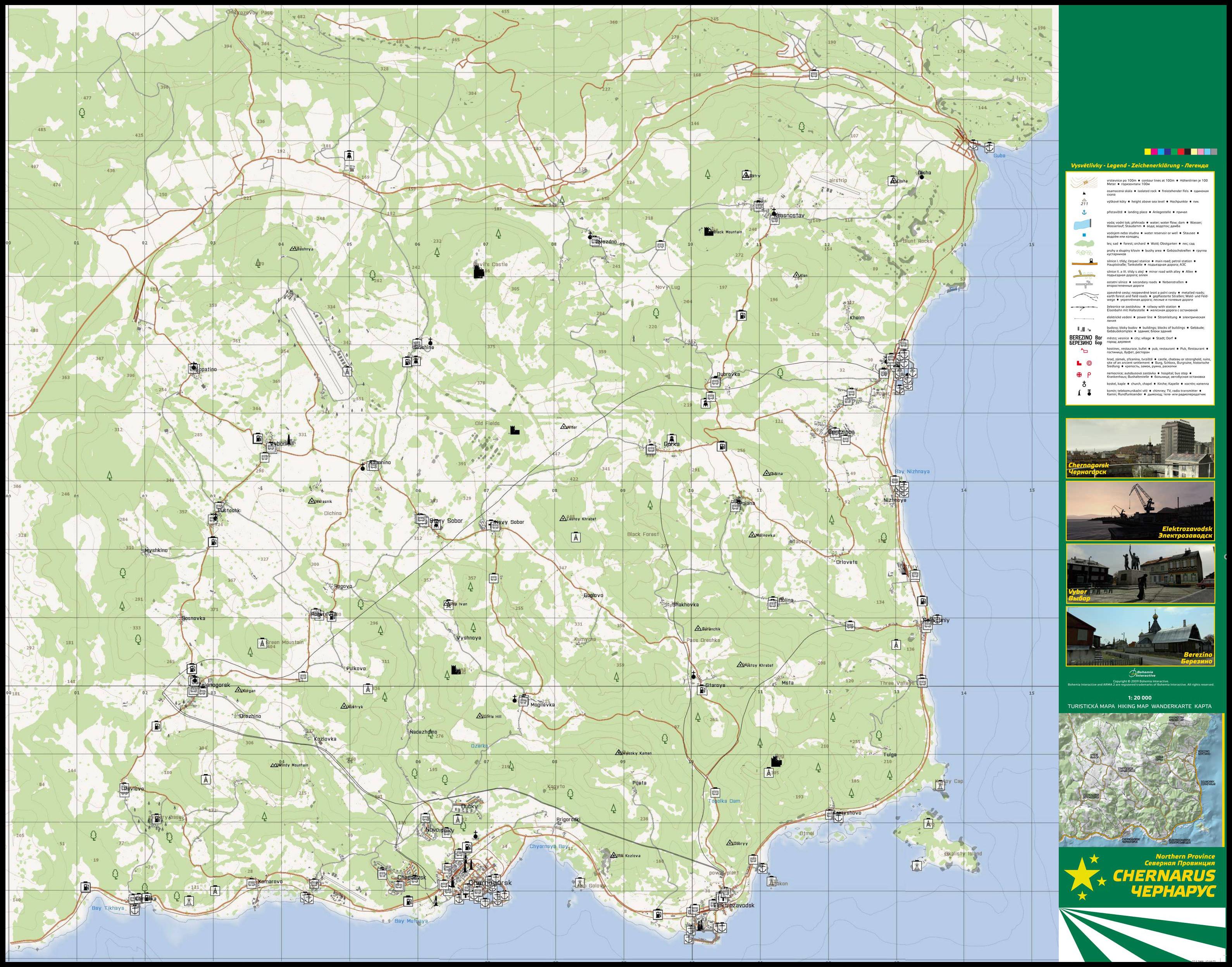 DayZ Standalone - Die Karte - Survivalcore - Dein News-Portal zu ...