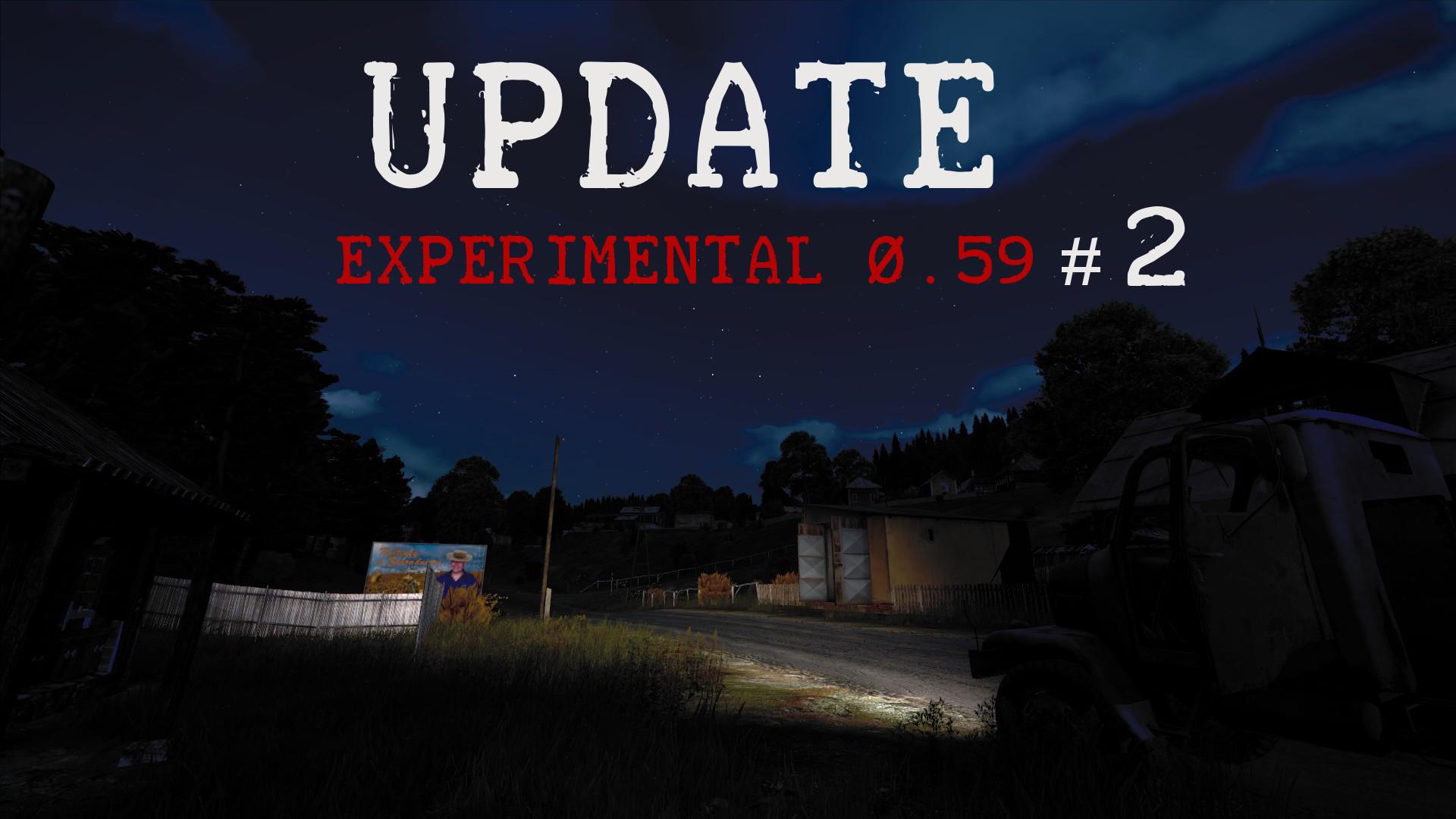 Experimental Update