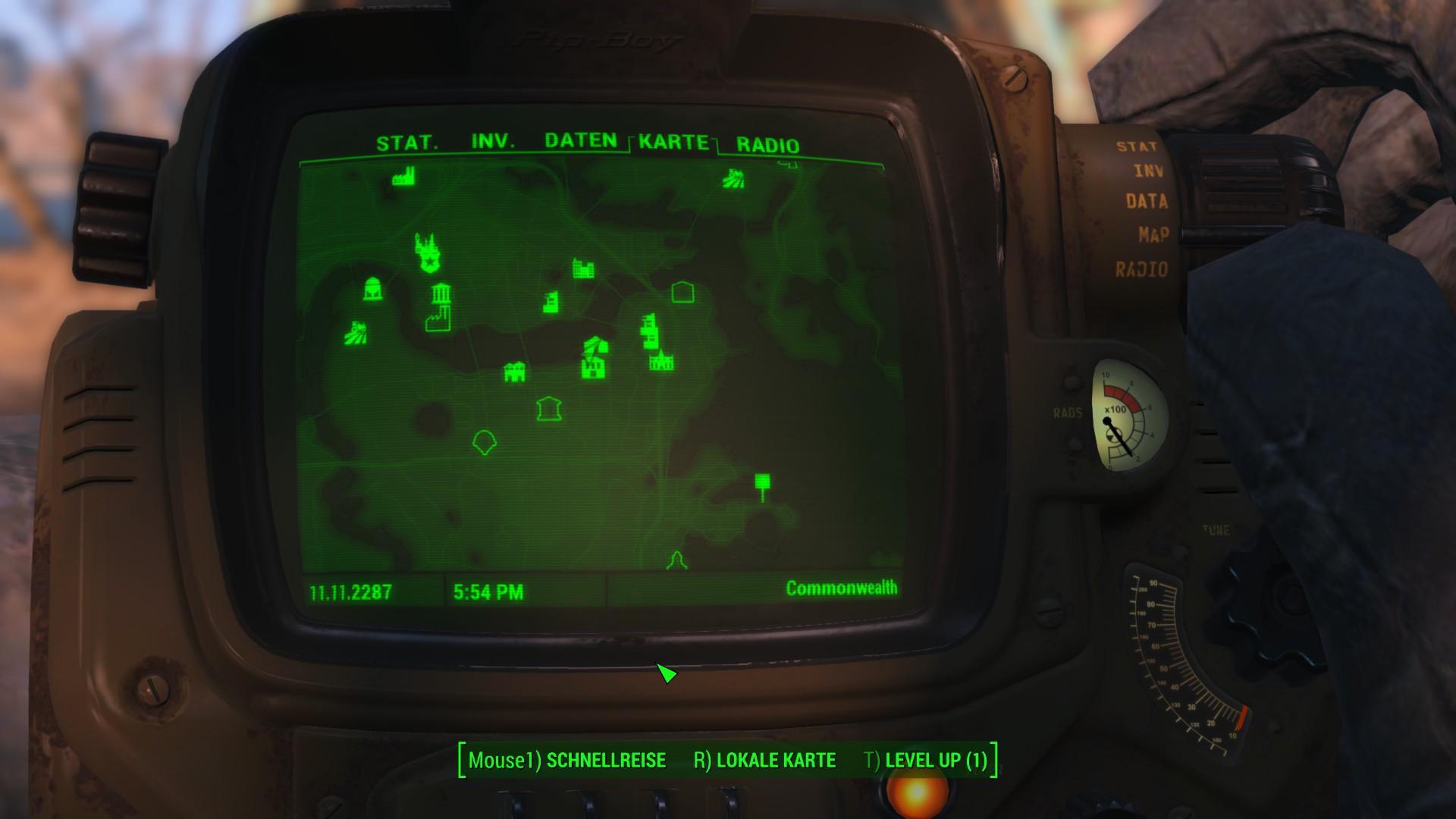 Fallout 4 Wackelpuppen Karte.Fallout 4 Tipps Und Tricks Rund Um Die Spielwelt