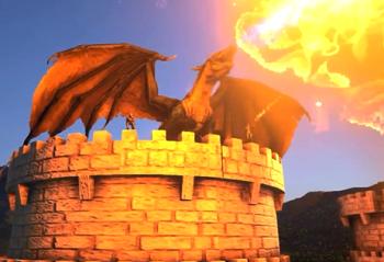 ARK Valhalla Kingdom Dragon