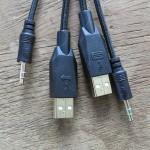 USB & 2x Klinke