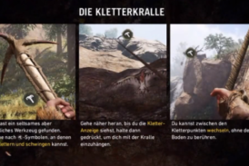 Far Cry Primal – So findest du die Kletterkralle!