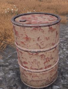 Rust Fass