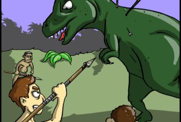 Erster SurvivalCore Comic – Ark: Survival Evolved & Familie Feuerstein