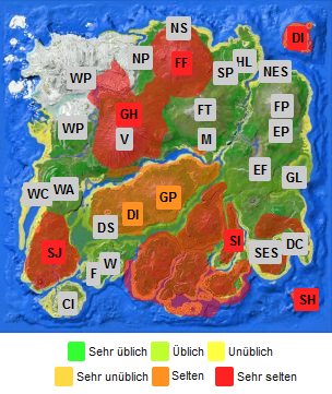 Survival Island   Map