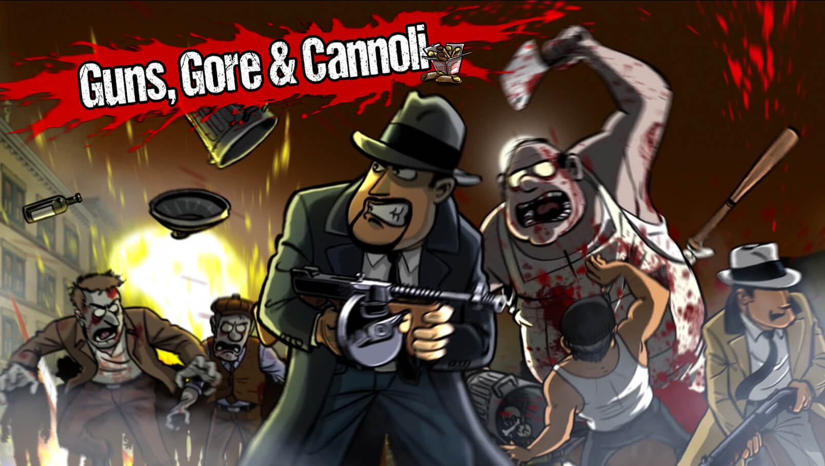 Guns, Gore and Cannolie