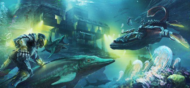 Ark Hier Ist Die Erste Ausschau Auf Tek Tier Items Unterwasser Basen