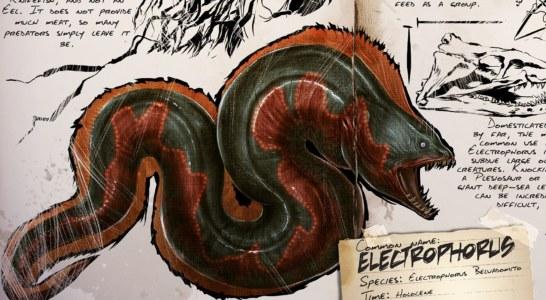 Ark: Survival Evolved Dossier – Electrophorus: Vorsicht vor seinen Stromstößen!