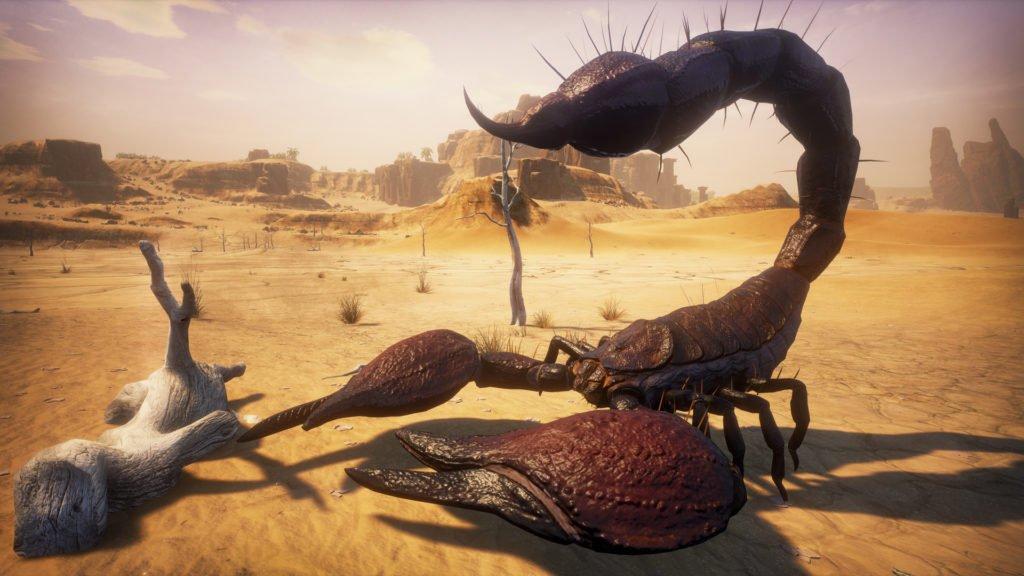 Ein Skorpion in Conan Exiles