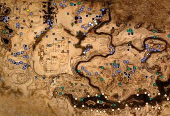 Conan Exiles – Interaktive Karte samt Ressourcen, Höhlen und Kreaturen