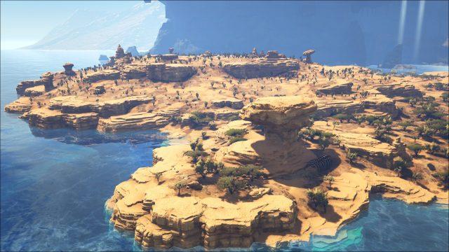 Ark Karte The Island.Ark Survival Evolved Mod Die Scorched Earth Insel Im Herzen Von