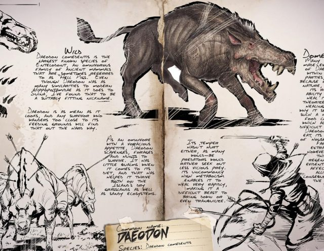 Ark Survival Evolved Dossier Das Daeodon Frisst Euch Die Haare Vom Kopf Use the following search parameters to narrow your results get reddit premium. ark survival evolved dossier das