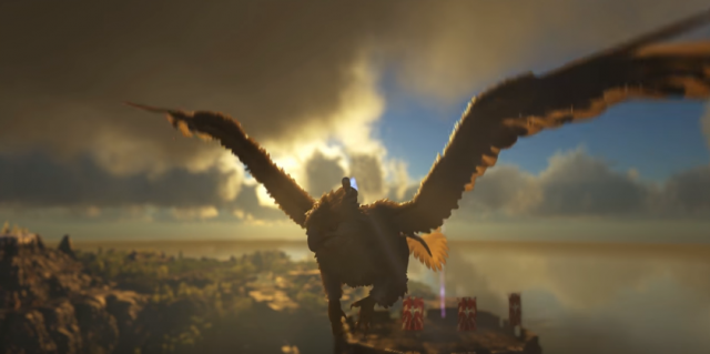 ark how to fly griffin