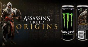 Assassin's Creed Origins - Eine Partnerschaft mit Monster Energy bietet exklusive Spielinhalte