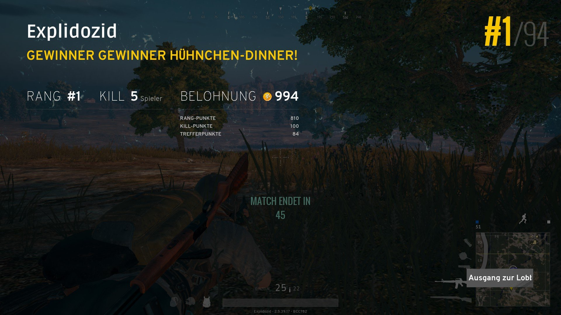 Pubg So Erhohst Du Deine Chancen Auf Dein Chicken Dinner